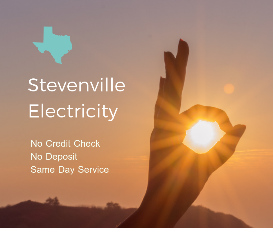 Prepaid Electricity Company in Stevenville Texas