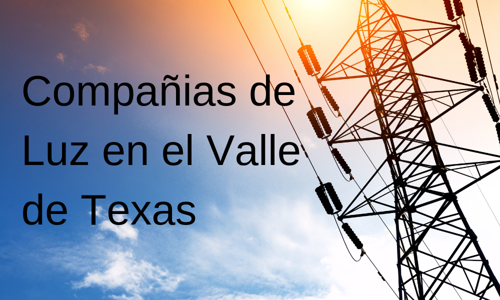 compañias de luz en el valle de texas