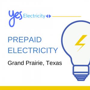 Prepaid Electric in Grand Prairie, Texas