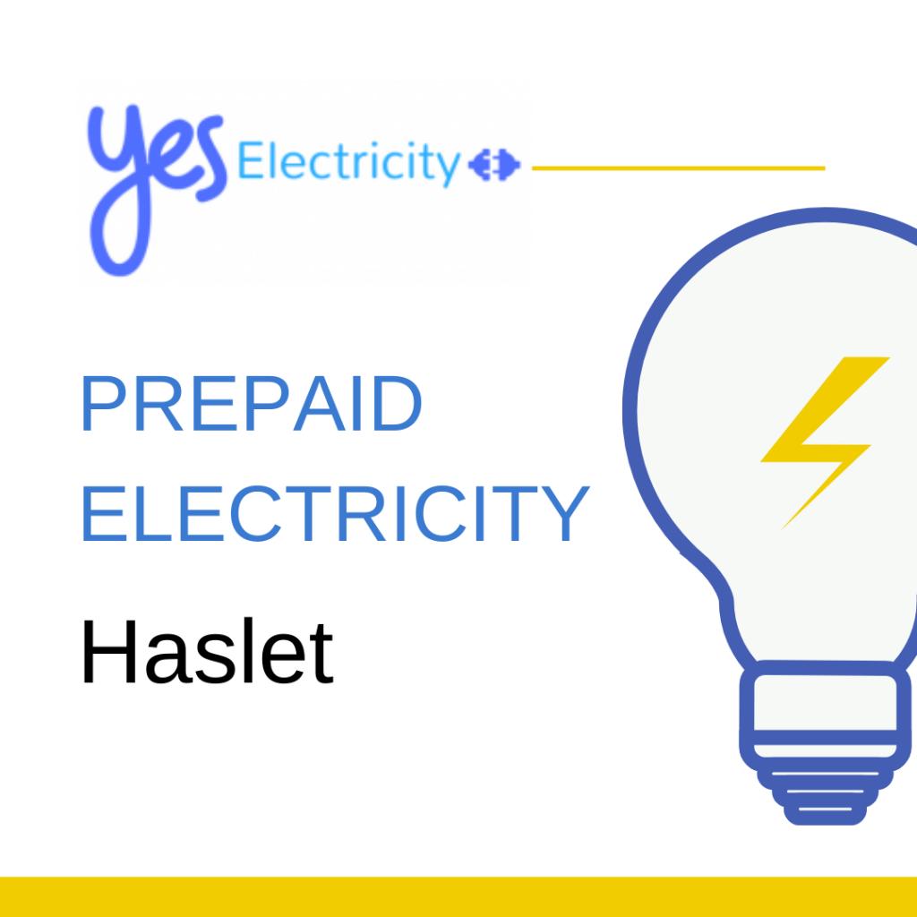 Prepaid Electric Haslet, TX
