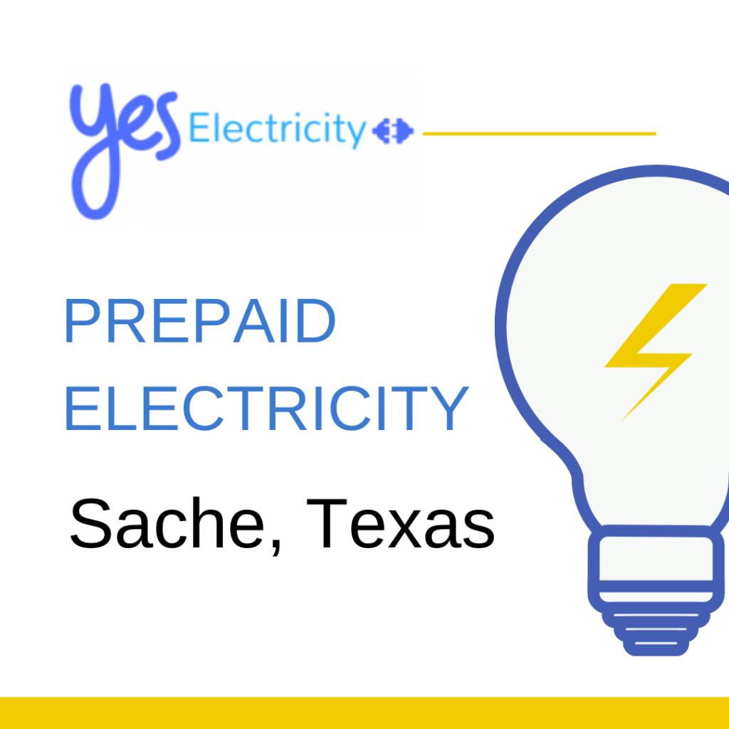 Prepaid Electric Sache, TX